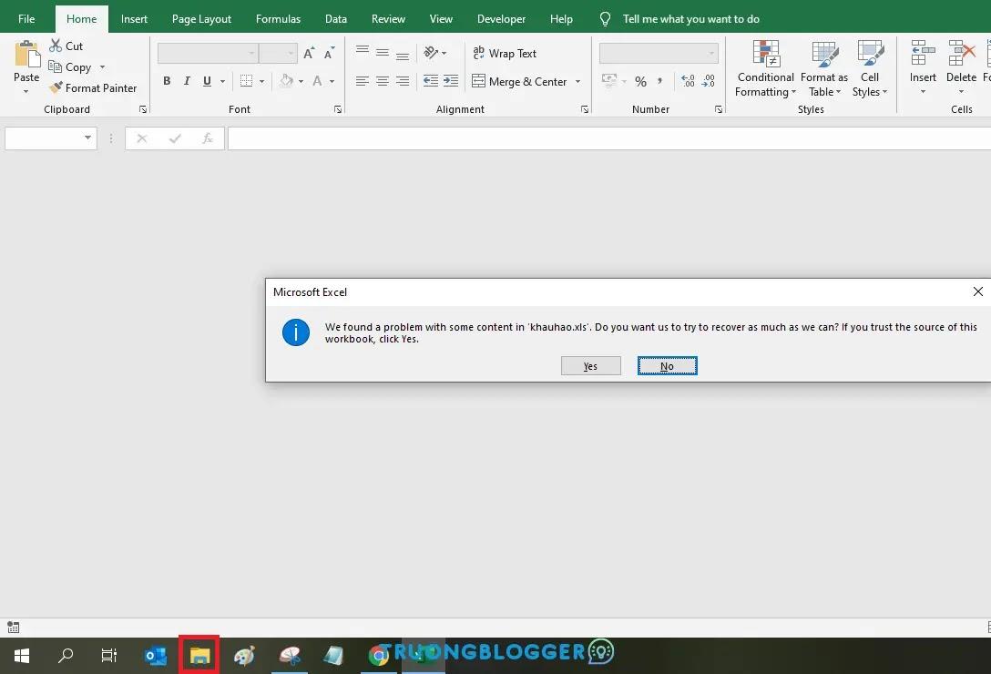 Sửa lỗi khi lưu file Excel nó cứ bắt lưu một tên khác