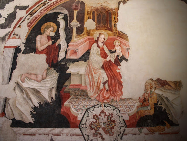 Fresco of the Virgin and Child, Santa Caterina, Treviso