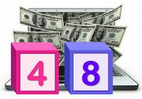 Цифра 48 COINPANDA