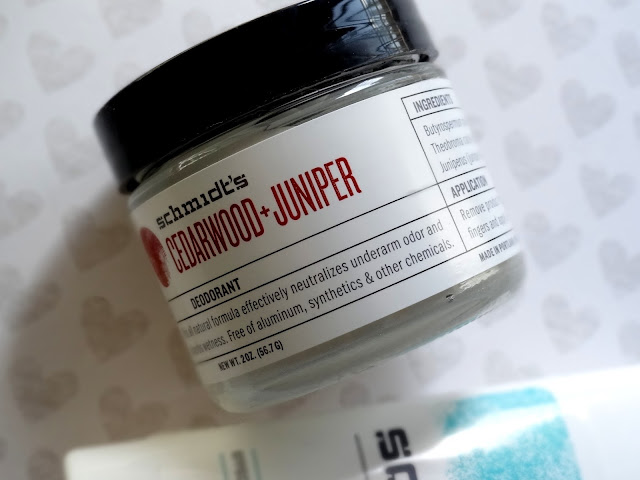 Schmidt's Natural Deodorant Fragrance-Free and Cedarwood Juniper Review, Photos
