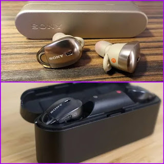 Sony WF-1000X earbuds, Sony earbuds
