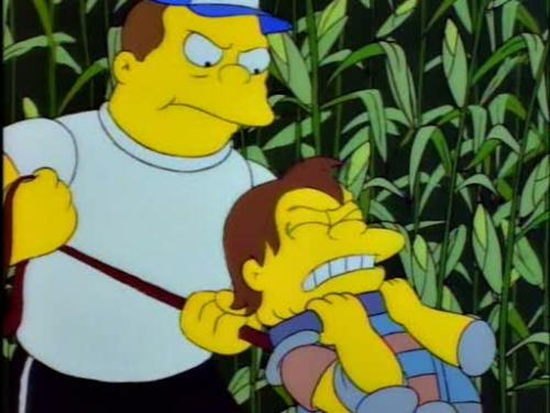 ending this barney nelson fiasco thesimpsons