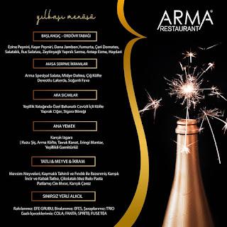 Arma Restaurant Denizli Yılbaşı Programı 2020