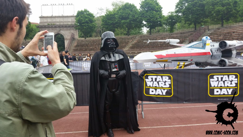 STAR WARS DAY 2015 A MILANO, REPORTAGE CON FOTO DELL'EVENTO