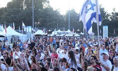 tahun 2016 ini, penduduk israel mengalami kenaikan