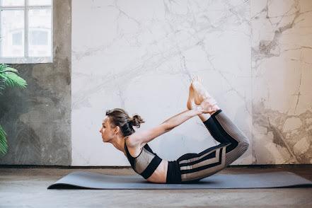DHANURĀSANA - BOW Yoga pose