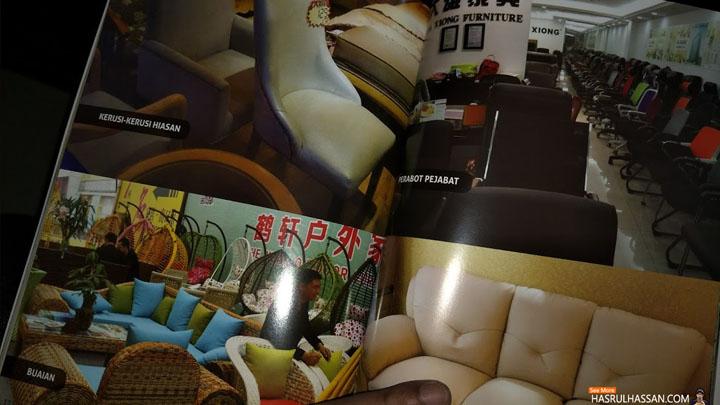 Buku DVD Panduan Beli Perabot Di China