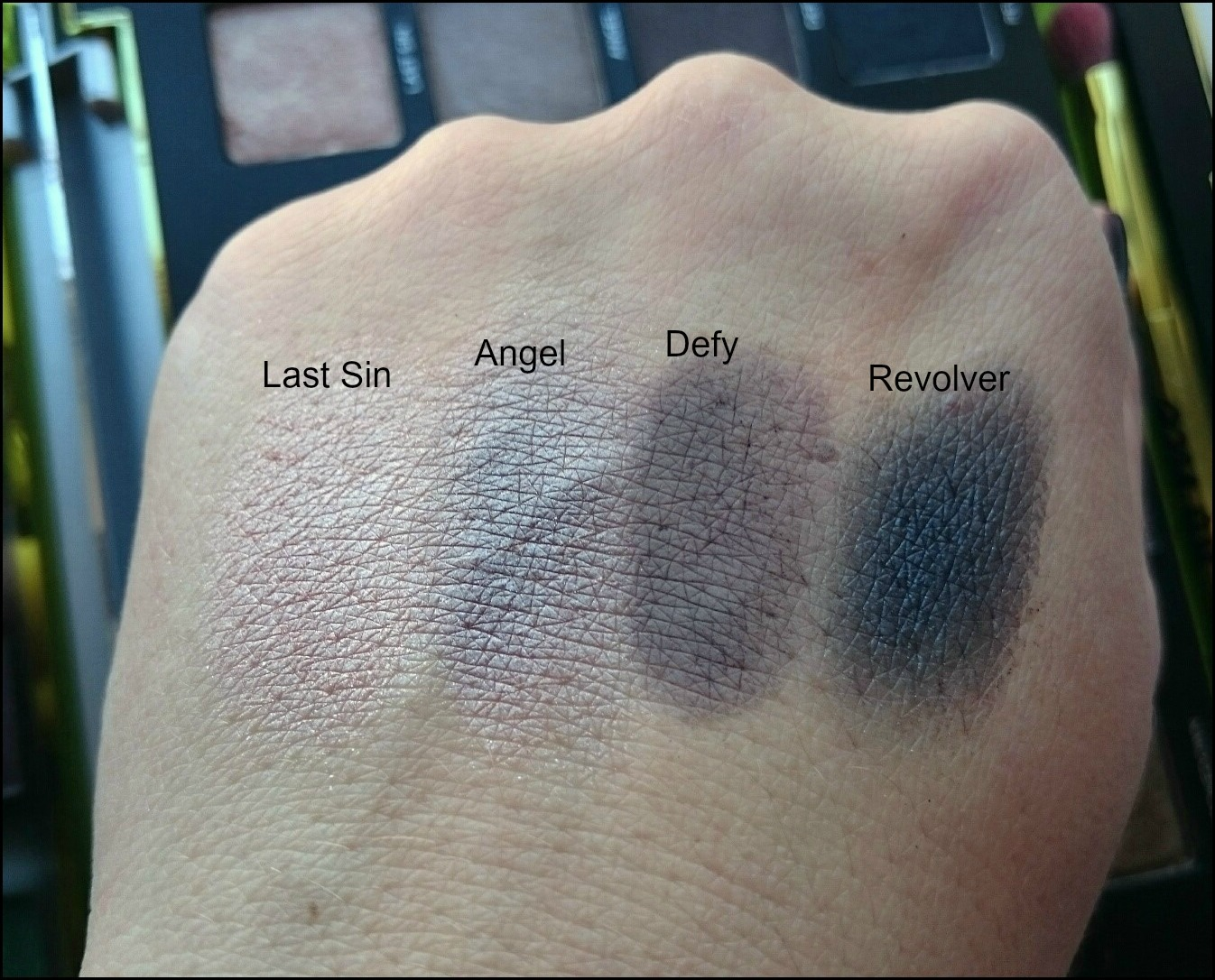 Vice 3 swatches