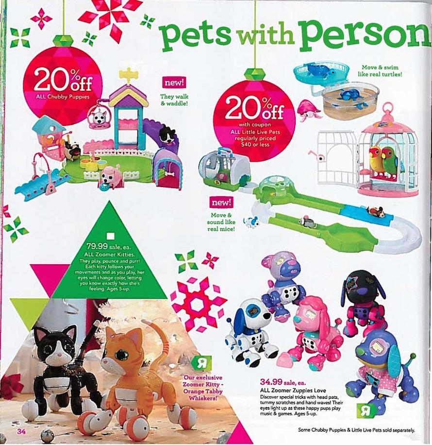 Toys R Us Holiday Toy Book 2015 Ad Scan