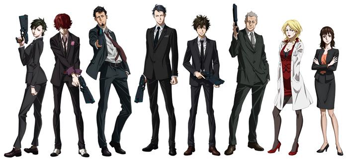 Psycho-Pass 3 anime - personajes