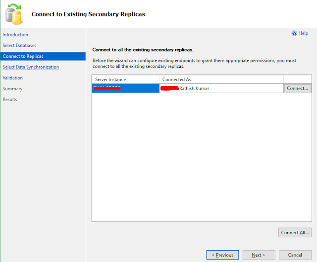 Choosing secondary replicas for SSIS Availability Database