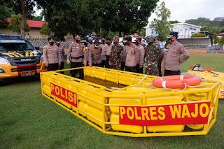 Perahu Jergen Polres Wajo Inovasi Murah Dan Mudah, Dapat Apresiasi