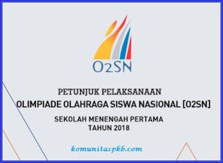 Juklak O2SN SMP/MTS Tahun 2018