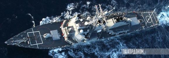 Ракетний есмінець ВМС США «Дональд Кук» йде до Чорного моря