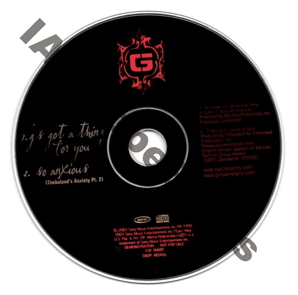 iAmDopeBeats Catalog: Ginuwine - The Life [Bonus CD]