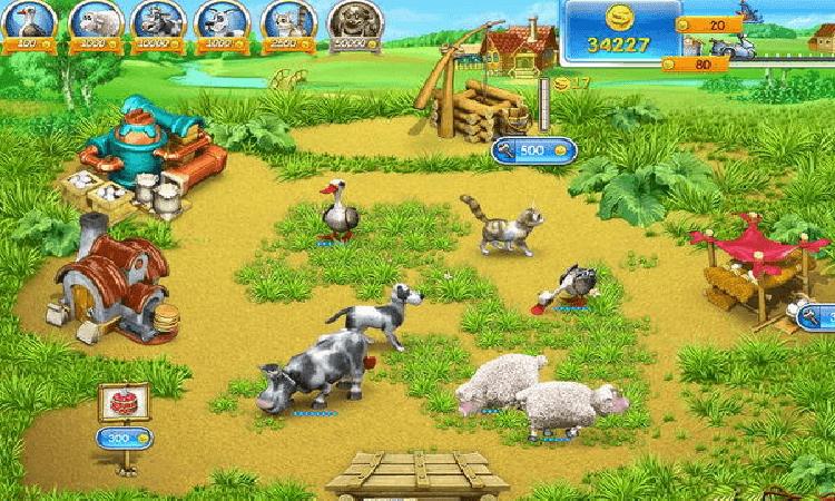 تحميل لعبة مزرعة الحيوانات Farm Frenzy 3 للكمبيوتر