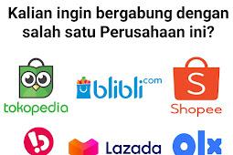 Website Resmi Loker Untuk Perusahaan E-commerce Indonesia
