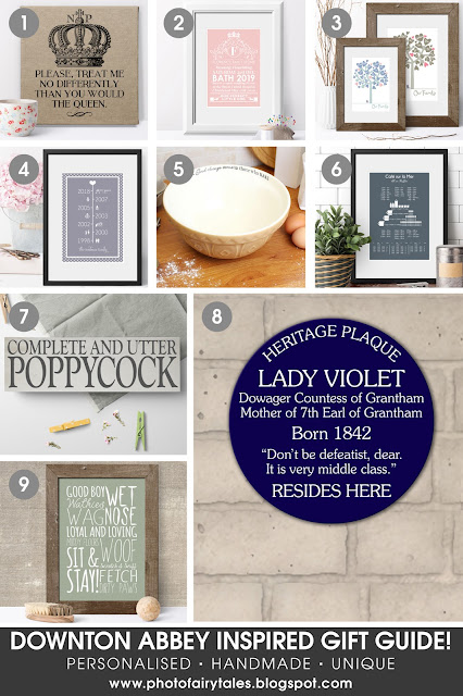 Downton Abbey Inspired Gift Guide