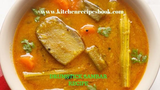Drumstick Sambar Recipe | Homemade Drumstick Sambar