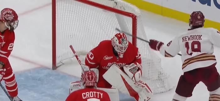 boston beanpot hockey highlights