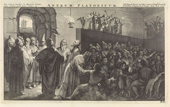 Las Alegorías  de Platón: el sol, la línea y la caverna