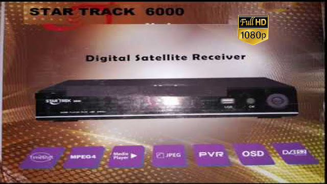 STAR TREK HD RECEIVER 6000 POWERVU TEN SPORT OK NEW SOFTWARE BY USB 22 JULY 2019