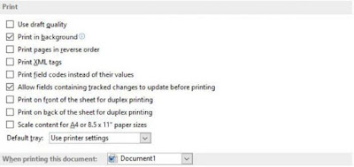 Scale content paper sizes ms word, Cara Setting Hasil Print Out Agar Sesuai Margin