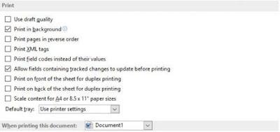 Scale content paper sizes ms word, Cara Setting Hasil Print Out Agar Sesuai Margin