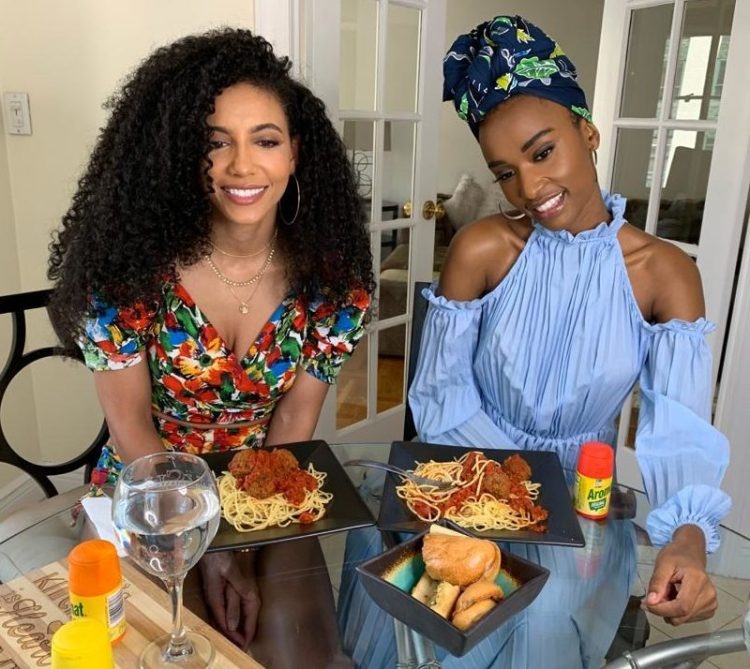 Here's What Went Down At The Aromat Dinner with Zozibini Tunzi!