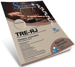 Apostila digital para o concurso público TRE-RJ Técnico Judiciário - Área Administrativa.