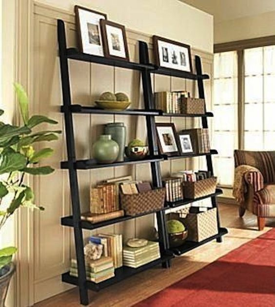 40 Creative Open Shelving Ideas For Living Room - Decor Units