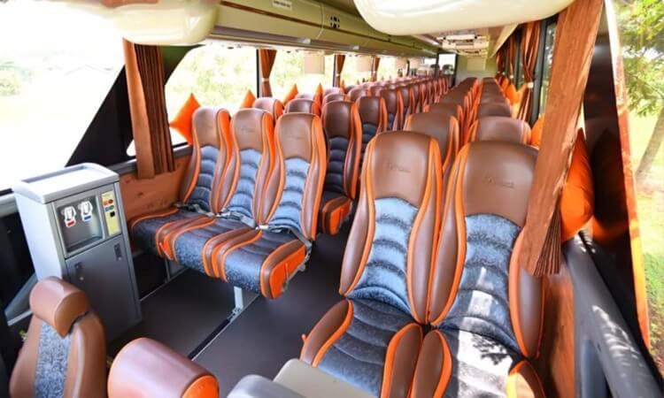 fasilitas sewa bus semarang di ranggawarsita murah dan terpercaya