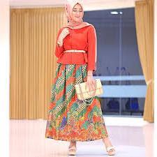 Model Baju Batik Terbaik Model Baju Batik Muslim Remaja Terbaru