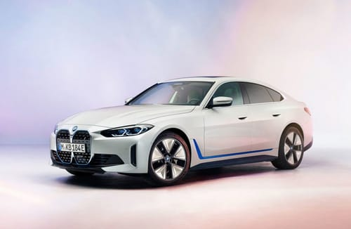 BMW reveals the appearance of the i4 electric vehicle