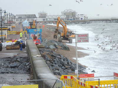 southsea promenade wall repair
