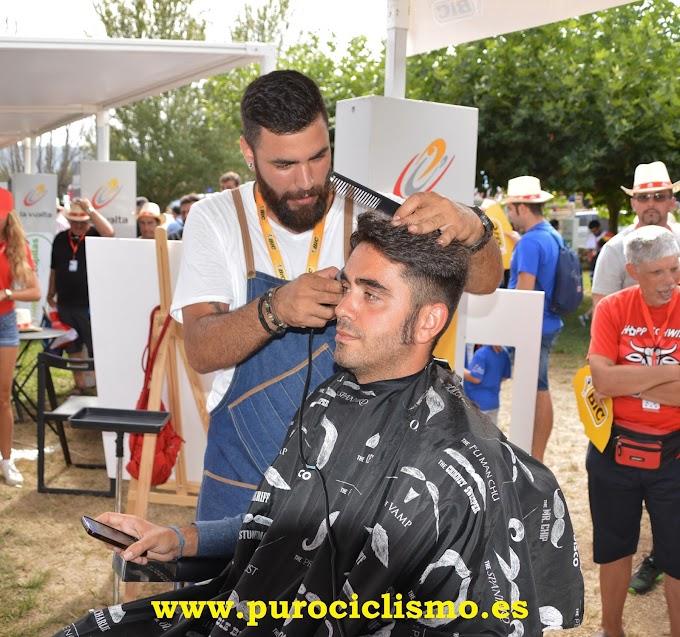 Adrián Ortigosa - Barbero de la Vuelta a España 2016