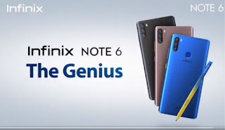 How Much Is Infinix Note 6 Price In Nigeria