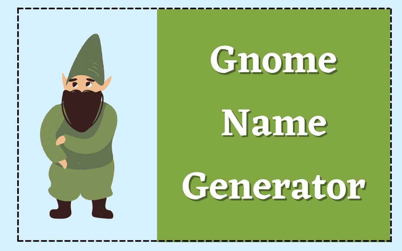 Gnome Name Generator