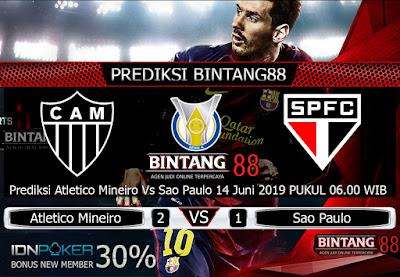 Prediksi Atletico Mineiro Vs Sao Paulo 14 Juni 2019