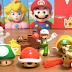 Detalhes do Mario distribuido no McDonald's Reino Unido e Japão