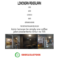 Info Lowongan Kerja di Simply One Coffe Surabaya Januari 2021