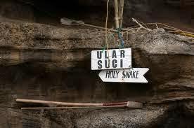 Gua ular suci tanah lot