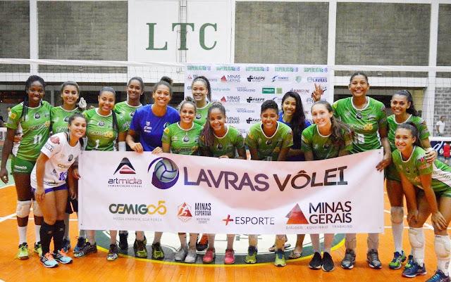 Crédito (foto): Divulgação/Lavras Vôlei