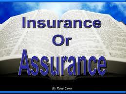 assurance insurance. Black Bedroom Furniture Sets. Home Design Ideas