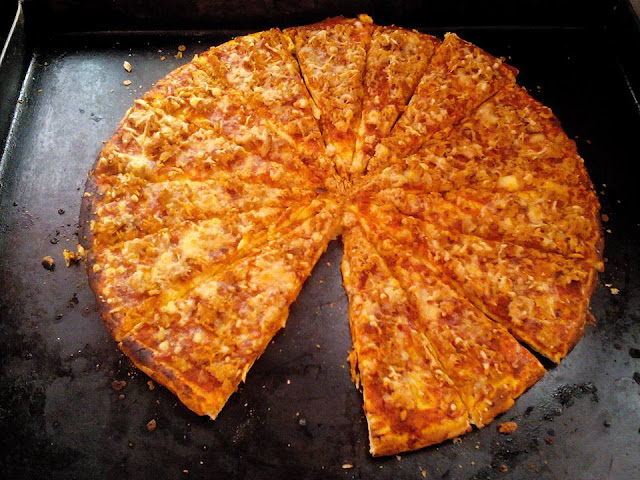 Pizza Thon et Mozzarella