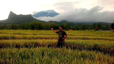Indahnya view Gunung Ceremai