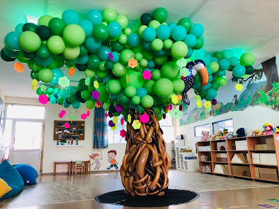 Balloon Tree by Keren Fridman Braha