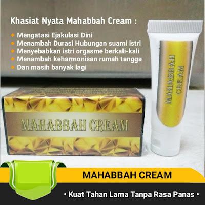 Jual Obat Kuat Oles Mahabbah cream tidak panas