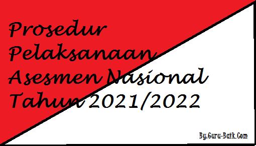 gambar prosedur pelaksanaan anbk 2021