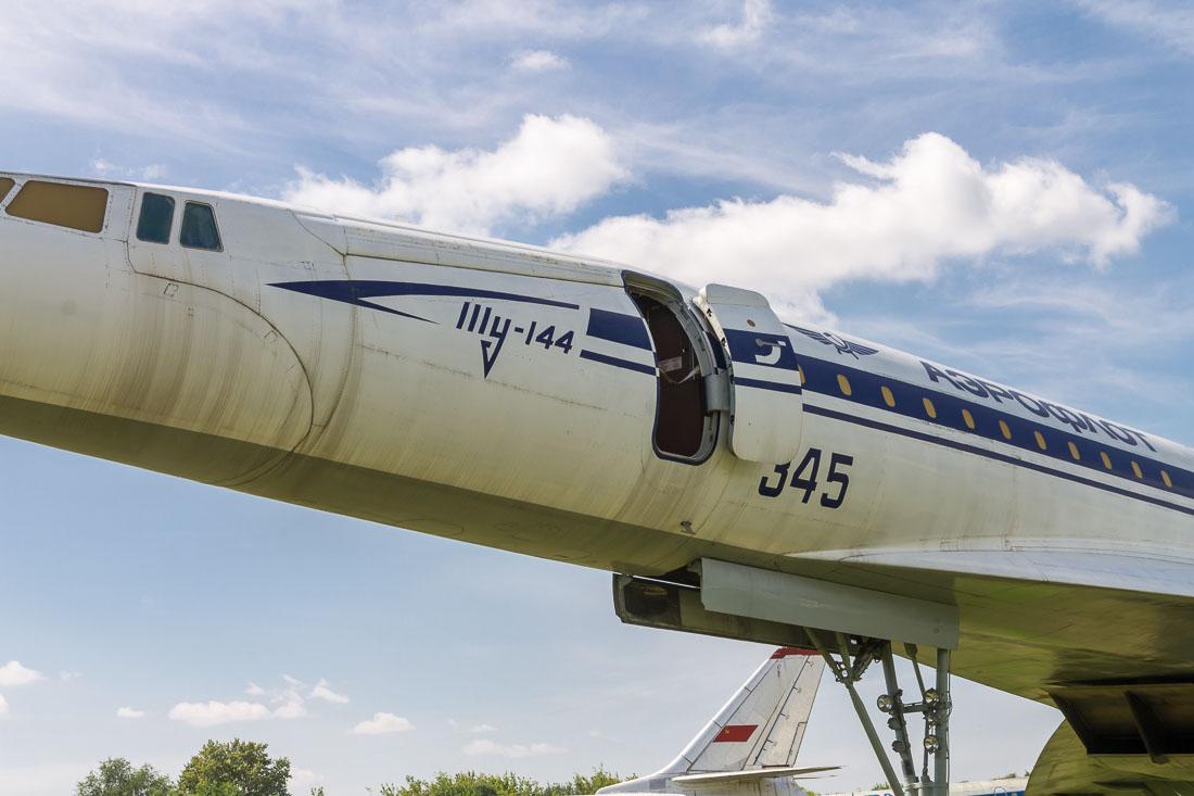 Самолёт Ту-144 фюзеляж